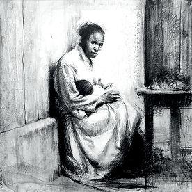 Emmanuel Michel peintre dessin Anjara Madagascar