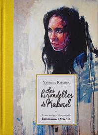 Emmanuel Michel peintre sculpteur livre Les hirondelles de Kaboul