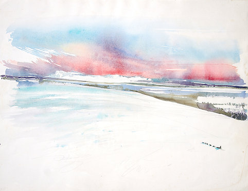 L'odyssée de Nicolas Vanier (50 x 65 cm)