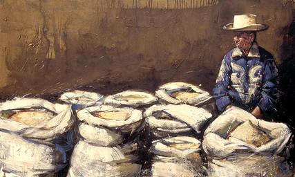 GUATEMALA, Marchand de maïs