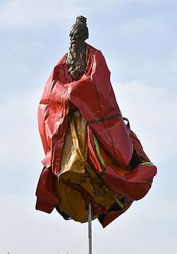 Emmanuel Michel peintre sculpteur grand sadhû volant
