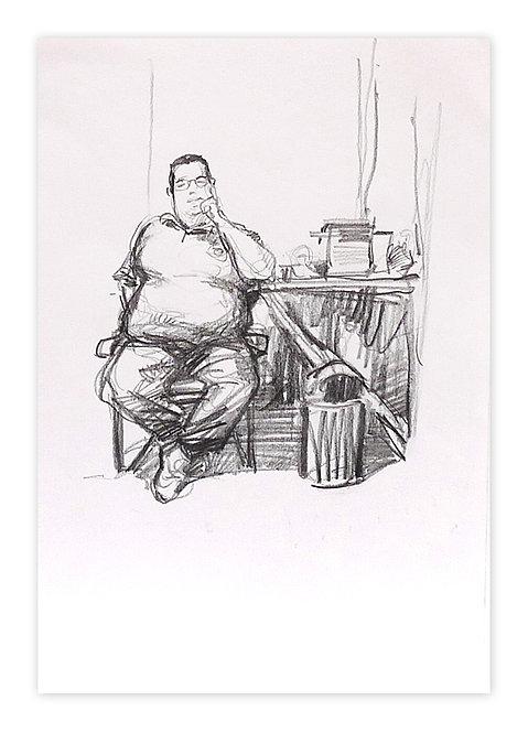 Zingaro, Cyril (30 x 21 cm)