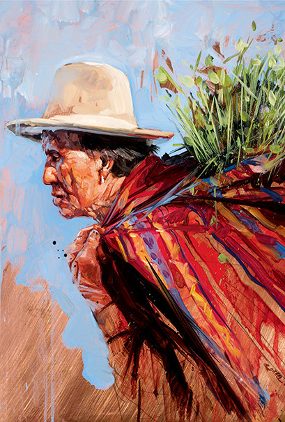 Pérou, Plein le dos 10x15 cm
