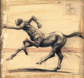 CENTAURE, Course de l'homo equinus