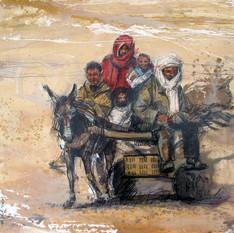 TUNISIE, Charrette