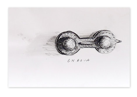 Zingaro, Castagnette Gnaoua (21 x 29 cm)