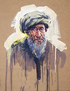 AFGHANISTAN, Portrait de Mirza