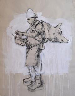 ZINGARO, L'homme au cochon