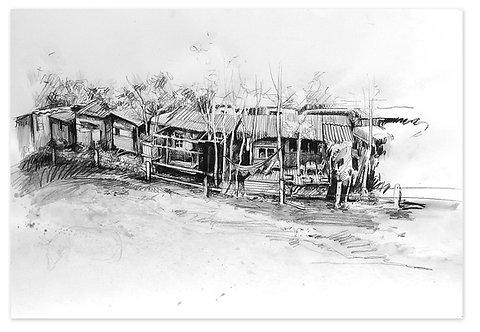 Zingaro, Habitations (42 x 60 cm)