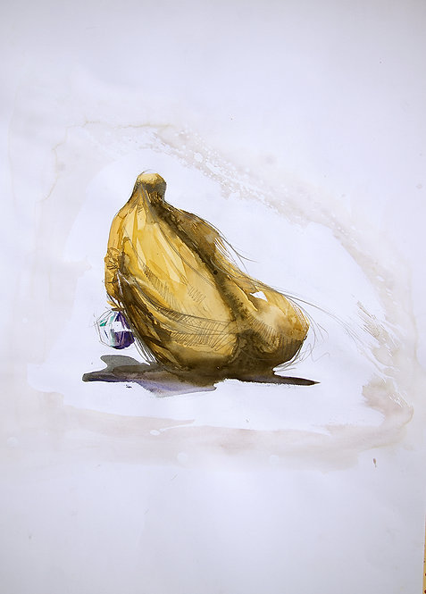 Afghanistan, Les Hirondelles de Kaboul, Burka jaune