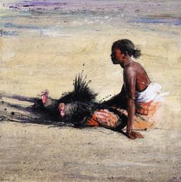 MADAGASCAR, Dindons à la plage