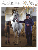 Emmanuel Michel peintre sculpteur Arabian Horse magazine 2017