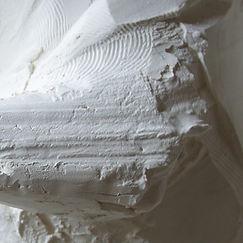 Emmanuel Michel sculpture plâtre bois pîerre