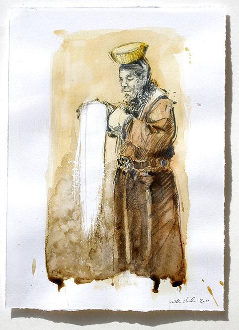 Mongolie, Offrandes (29 x 21 cm)