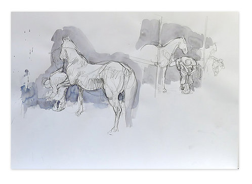 Zingaro, Maréchal-ferrant 2 (42 x 60 cm)