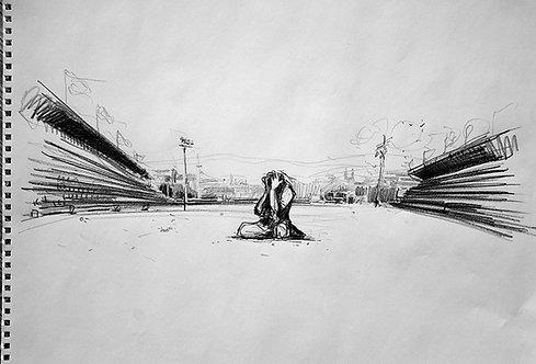Afghanistan, Les Hirondelles de Kaboul, Le désespoir (42 x 58 cm)