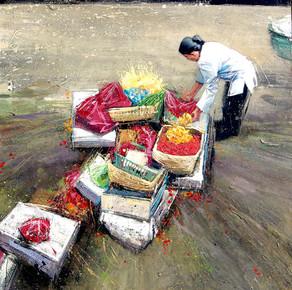 INDONESIE, Fin du marché de pétales