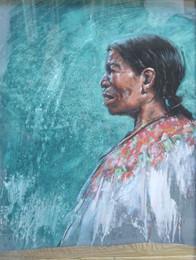 GUATEMALA, Femme au huilpil