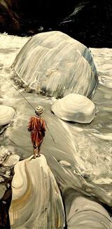 NEPAL, Petit pêcheur