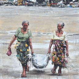 SRI LANKA, Face à la mer