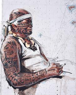 TAHITI, Malo le tatoué