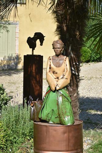 Sculptures en situation