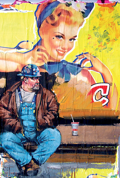 New York, Chef de chantier 10x15 cm