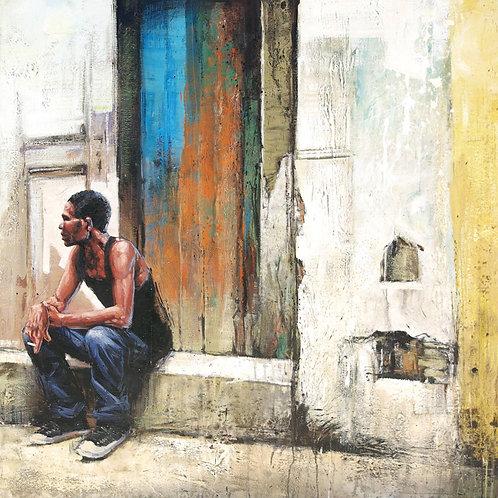 Cuba, Calle Merced 15 x 15 cm