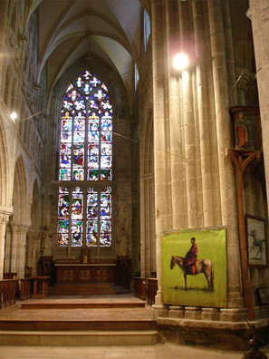Collégiale Notre Dame lamballe 2006