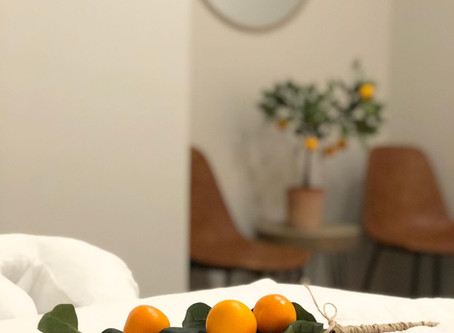Beat Holiday Stress with Citrus Massage