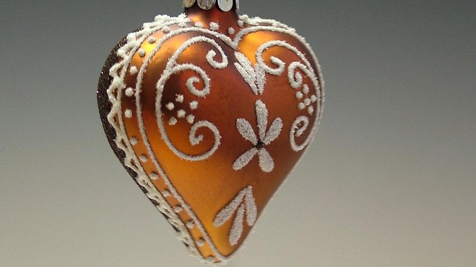 Peperkoeken hartje (3 in een doos)