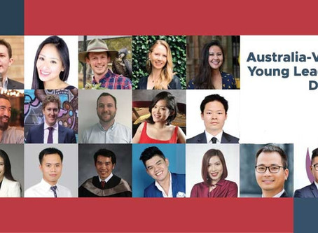 Delegates announced for the 2019 Australia-Vietnam Young Leadership Dialogue