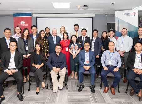 Young leaders from Vietnam and Australia shape the future of both nations at the 2019 AVYLD