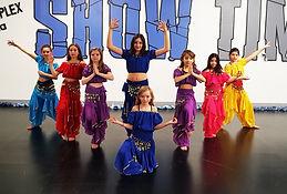 bollywood dance show time bart danse