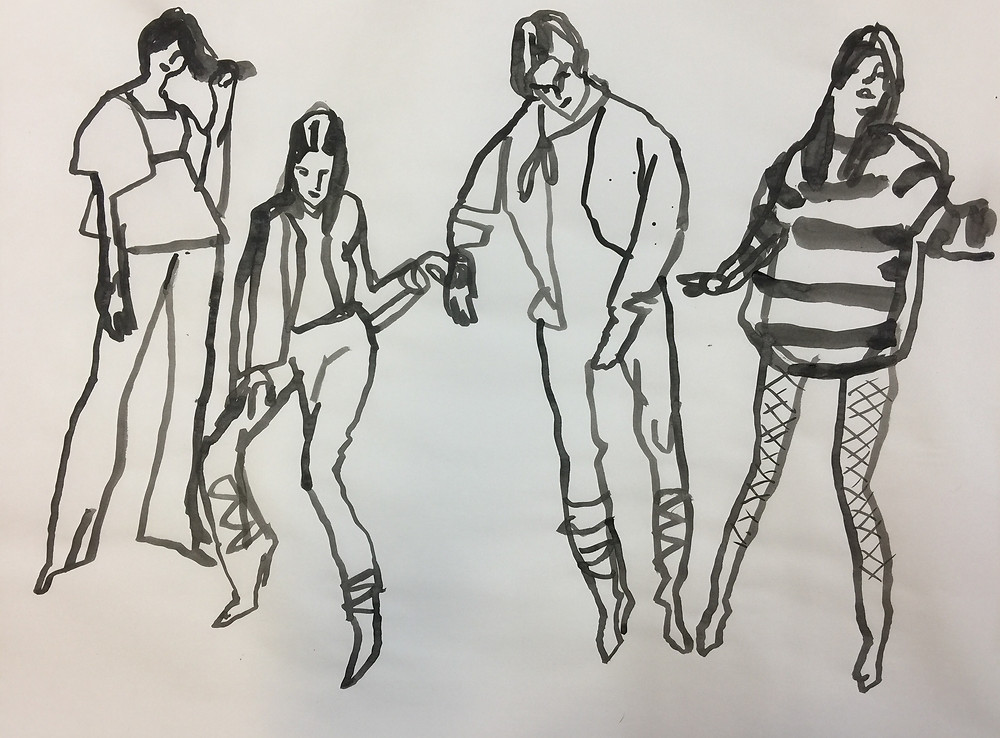 Figures, by Peggi Kroll Roberts