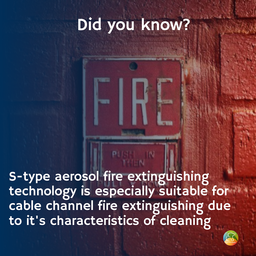Did you know this about fire extinguishing technology?