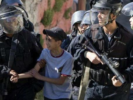 Niño palestino fue torturado por policía israelí con descargas eléctricas y golpes de puño