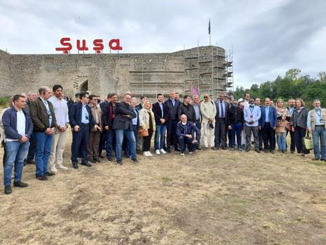 Los embajadores de Rusia, Estados Unidos y Francia se negaron a visitar la ocupada Shushí