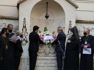 Ceremonia Interreligiosa y acto en el Centro Armenio