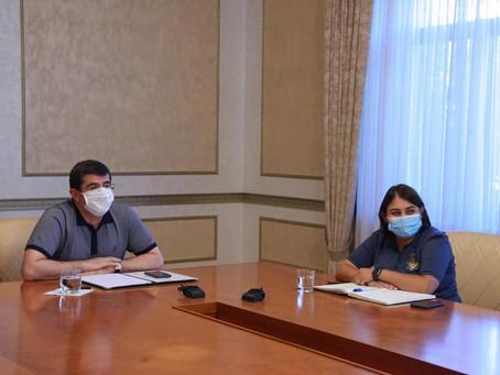 IARA mantuvo un encuentro con la responsable de la Diáspora del gobierno de Artsaj