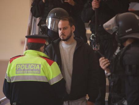 Encarcelaron al rapero Pablo Hasel por denunciar en sus canciones a la corona española