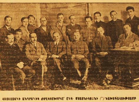 Alexander Miasnikian, el primer presidente de Armenia Soviética