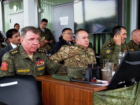 Armenia participa en Rusia de ejercicios militares conjuntos