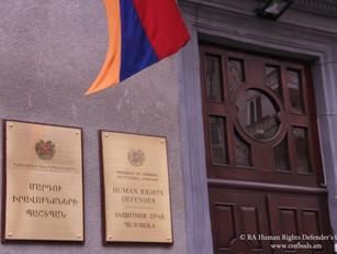 """""""¡No se puede seguir así!"""", enfatizó el Defensor del Pueblo de Armenia"""