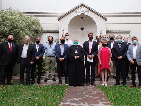 El flamante Embajador argentino en Armenia se reunió con IARA