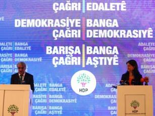 """El HDP da a conocer la declaración """"Llamado a la democracia, la justicia y la paz"""""""