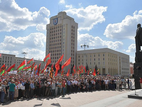 Bielorrusia en la mira de Occidente