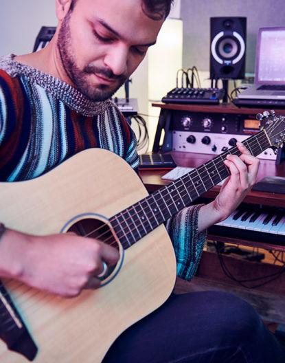 Breedlove acoustic guitar