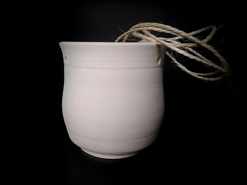 Hanging pot - #606 - hand-thrown pottery