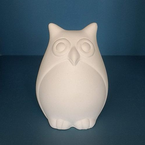 Cute owl - foam clay